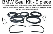 9 Piece Body Window Seal Kit fits 68-76 BMW 2002 E10