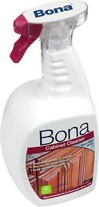 NEW! Bona Wood Cabinet Cleaner Spray - 36oz- RARE! DISCONTINUED!
