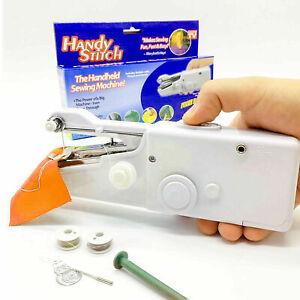 Machine Handy Stitch Machine Sewing Handheld Handled Sewing Machine Portable uk