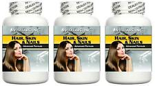 3x Thicker Hair, Younger Skin Strong Nails Tablets Wrinkles Brittle Broken Nails