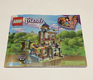 LEGO Friends 41340 Friendship House instruction manual ONLY