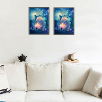 5D DIY Diamond Painting Embroidery Cross Craft Stitch Home Wall Decor