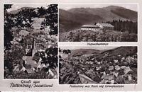 uralte AK, Plettenberg Sauerland Jugendherberge Blick auf Eiringhausen 1957