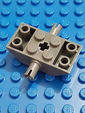 LEGO bricks Modified x 1 slope  6 x 2 axle for wheels dark grey 6069014 look