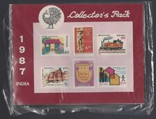 India 1987 sealed Post Office Year Pack