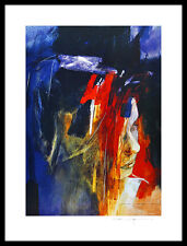 Christine Comyn Odalisken I Poster Bild Kunstdruck im Alu Rahmen schwarz 80x60cm