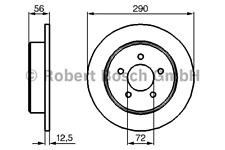 Bremsscheibe (2 Stück) - Bosch 0 986 479 102