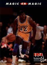 Magic Johnson #104 Skybox USA 1992 NBA Basketball Card