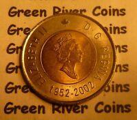 Canadian Two Dollar Coin Elizabeth ll 1952-2002   #-2CD-2002