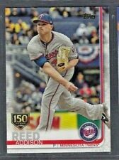 Addison Reed 2019 Topps Series 1 150th Anniversary Parallel #193 Twins