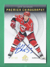 2012-13 SP Authentic Premier Chirography JEFF SKINNER