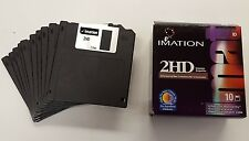 50 NEW Imation Floppy Disks. 1.44 Formatted 2HD DS/HD.   Open Box.