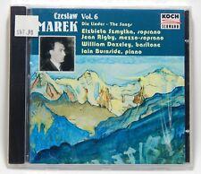 Czeslaw Marek: Die Lieder, Vol. 6 ~ NEW CD (Feb-2001, Koch/Schwann) The Songs