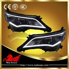 HID/LED Headlights For 2013-2014 Toyota RAV4 Bi-xenon Projector and DRL