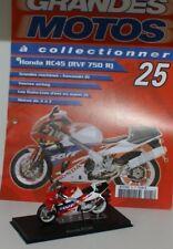 moto ixo 1/24 honda rc45 rvf 750 r avec son fascicule n25