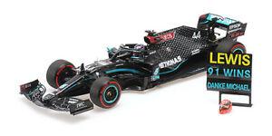 1:18 Mercedes W11 EQ performance 2020 Lewis Hamilton 91st Win Eifel Ltd -1/2020