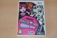 Monster High Ghoul Spirit Nintendo Wii UK PAL Game **FREE UK POSTAGE**