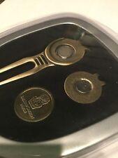 New Ritz Carlton Naples Gift set money clip Golf ball marker magnetic holder cap