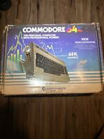 VINTAGE COMMODORE 64K COMPUTER, ORIG BOX, With Games