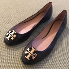 Tory Burch RARE Black Claire Flats NEW Sz 8.5 Retail $250 SOLD OUT