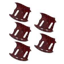 5*Guitar Pickguard for Fender Mustang Classic Series Parts Tortoise style 3Ply
