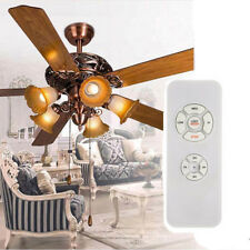 Universal Ceiling Fan Lamp Remote Control Kit Timing Wireless Control 97-124V US
