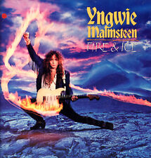 "YNGWIE J. MALMSTEEN "" FIRE & ICE "" LP NUOVO  POLYDOR 1992"