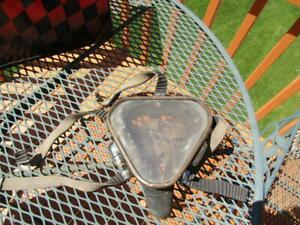 Vintage Triangle  Scuba Mask from Diving Equipment Supply Milwaukee Military ?