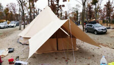 3M 4M 5M 6M Cotton Canvas Bell Tent Waterproof Hunting Camping Yurt Tent Outdoor
