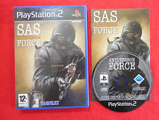 SAS ANTI-TERROR FORCE - PlayStation 2 PS2~Complete~PAL~12+ Action/Shooter ~ VGC