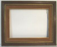 VINTAGE ART DECO  WOOD ,GOLD PICTURE FRAME FOR PAINTING 16 X 12 INCH (e-13