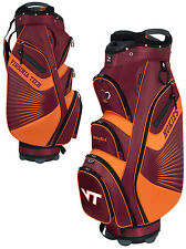 Team Effort Bucket II Cooler NCAA Collegiate Golf Cart Bag Virginia Tech Hokies