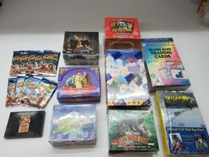 8 BOX LOT BLAST FROM THE PAST 90's Trading Cards Factory Sealed BONUS PACKS
