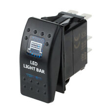 Rear Lights 12V 20A Blue LED Light Bar ARB Carling Rocker Toggle Switch Car Kit