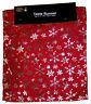 Festive Red Snowflake Christmas Table Runner - 150 cm x 33 cm