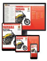 Yamaha MT-07, Tracer & XSR700 (2014-2017) Haynes Online Manual