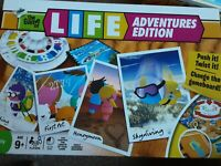 THE GAME OF LIFE ADVENTURES EDITION BY HASBRO 2010 - COMPLETE