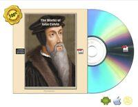 Works Of John Calvin 42 Volume e-Books CDROM