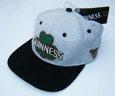 Licensed GUINNESS BEER IRISH SHAMROCK St Patrick's Day Adjustable Strap Hat NWT