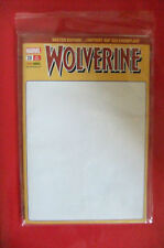 9.2 NM- WOLVERINE # 12 13 & 14 BLANK SKETCH COVER EURO VARIANT LIM 555 WP 2012