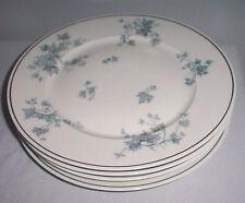 """PORCELAINE DE LIMOGES FRANCE PATTERN DELISE FOUR LOT 10 3/8"""" DINNER PLATES"""