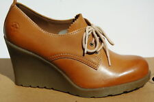 Dr Martens Mimi Elevate Chaussures Femme 41 Escarpins Tan Richelieu Wedge UK7