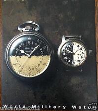 World Vintage Military Watch Collection Photo Book Rolex Elgin Hamilton Omeg WW2