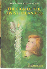 NANCY DREW Sign of the Twisted Candles Carolyn Keene (1968) Grosset & Dunlap HC