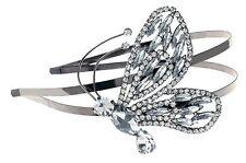 Nouveau Mariposa de tendencia Tocado Corona Tiara Diadema con Swarovski Cristal
