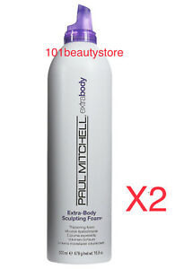 PAUL MITCHELL Extra Body Sculpting Foam (2pack) Pick Size * Same day Ship