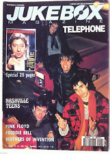 JUKEBOX n°48; Telephone/ Gainsbourg/ Pink Floyd/ Freddie Bell/ Mothers of Inten