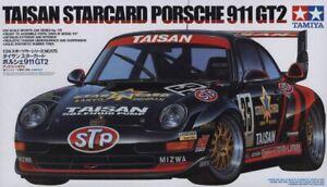 Tamiya 1/24 Taisan Starcard Porsche 911 GT2 Plastic Model Kit 24175
