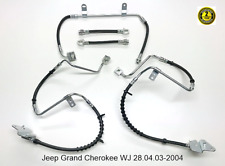 For Jeep Grand Cherokee WJ Front & Rear Brake Hoses SET 28.04.03-2004