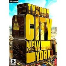 Tycoon City: New York PC/Windows/Video/Game/CD/Rom/Used/Builder/Strategy/Soft